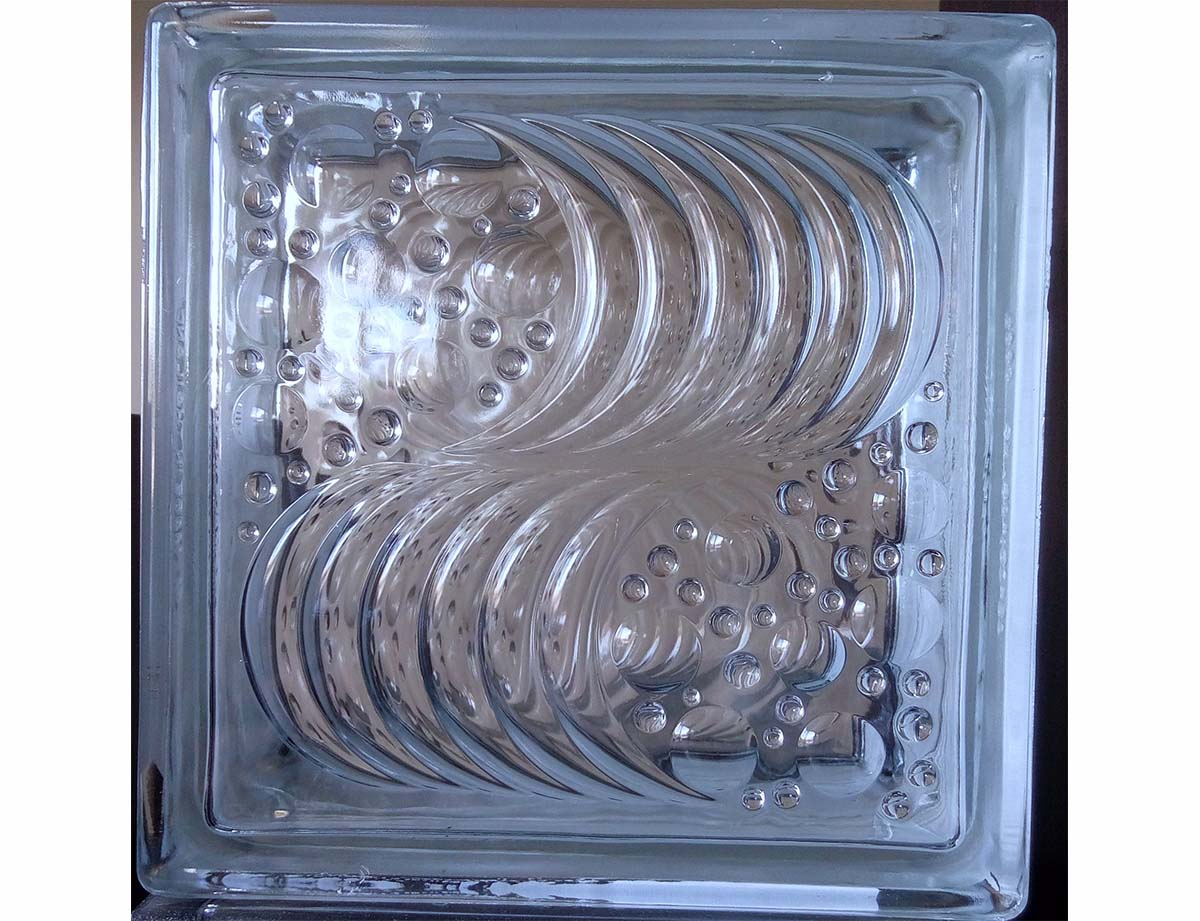 Brique de verre – Ocean Wave